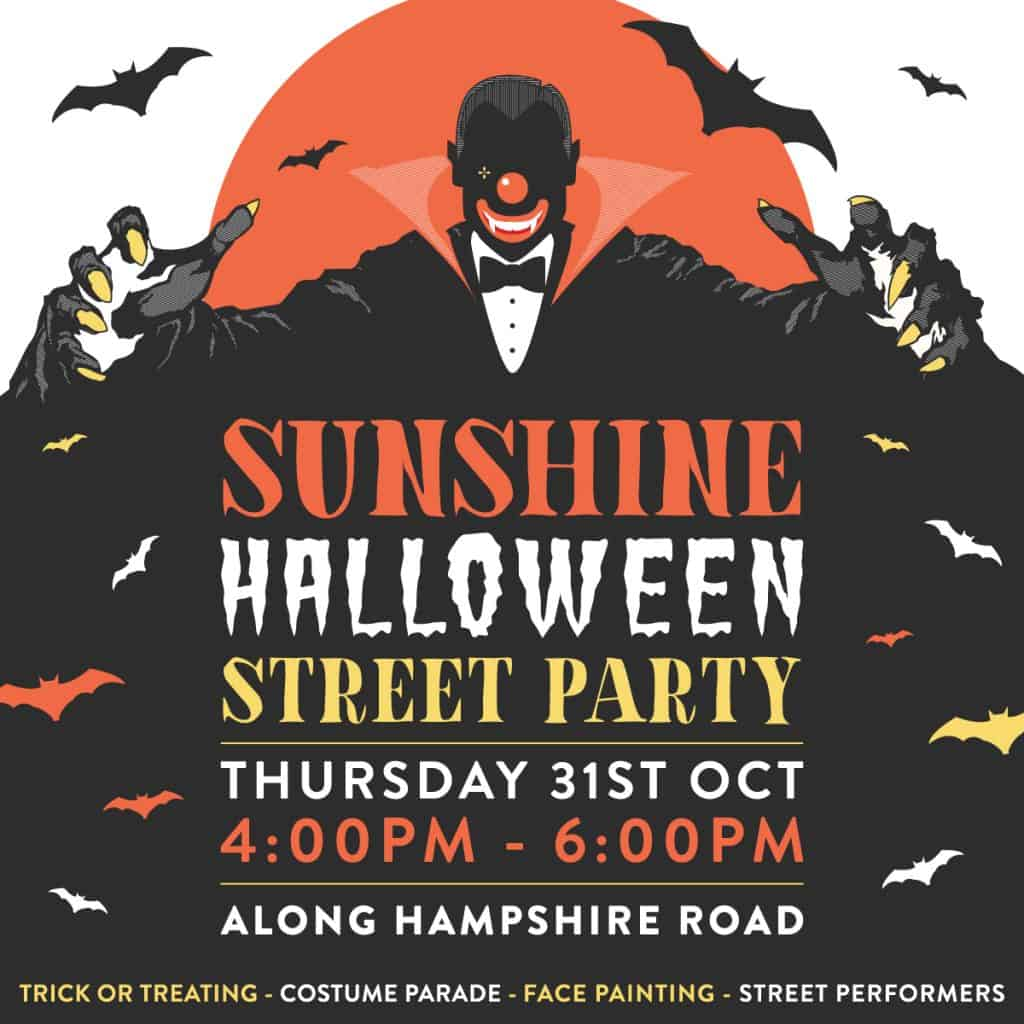 Sunshine Halloween Street Party